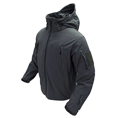 Condor Summit Soft Shell Tactical Jacket, Color Black, Size 3XL