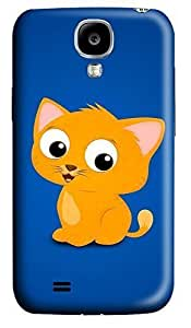 Samsung S4 Case Cute Cartoon Cat 3D Custom Samsung S4 Case Cover