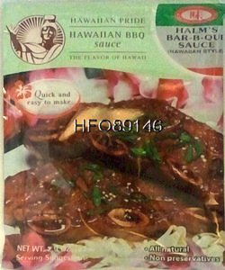 - Hawaiian BBQ Sauce (pkg)