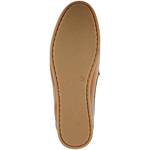 Ikon Gowan Mens Slip On Shoes Tan