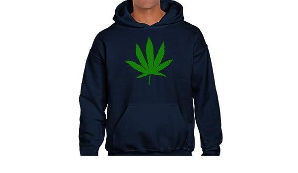 Positivos Sudaderas Capucha Sudadera con Capucha Marihuana - M: Amazon.es: Hogar
