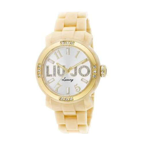 LIU JO LUXURY Orologio da donna MIAMI TLJ696 Osso GOLD  Amazon.it  Orologi ad5273fb9cd