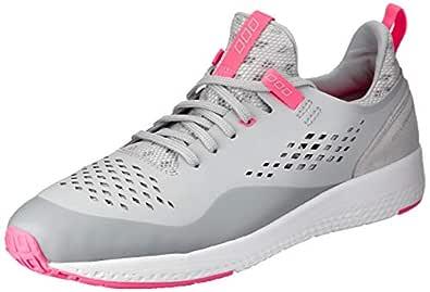 Lorna Jane Elevate Classic 1.8 / Elevate Classic 1.8, Womens Shoes, Grey (Grey/Neon Melon), 9 AU