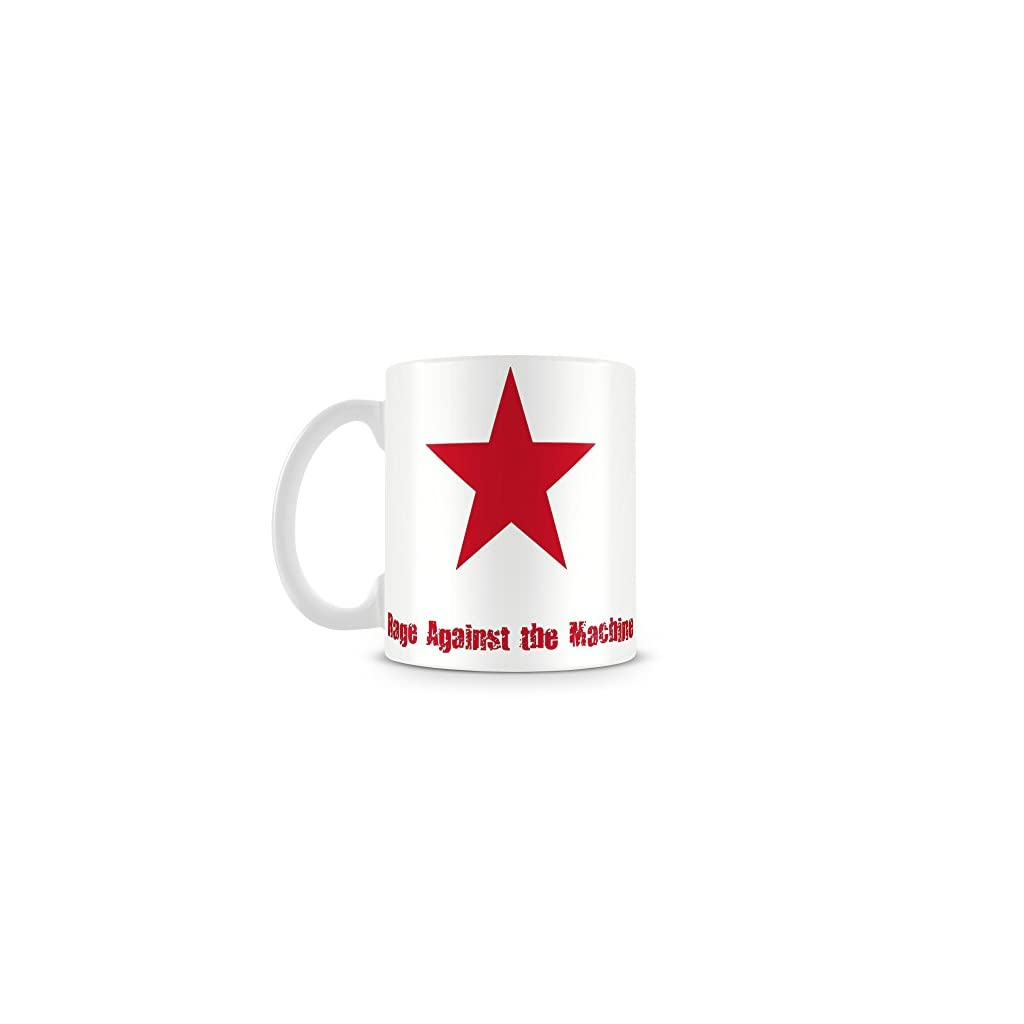 """Rage Against The Machine – star"" – Taza"