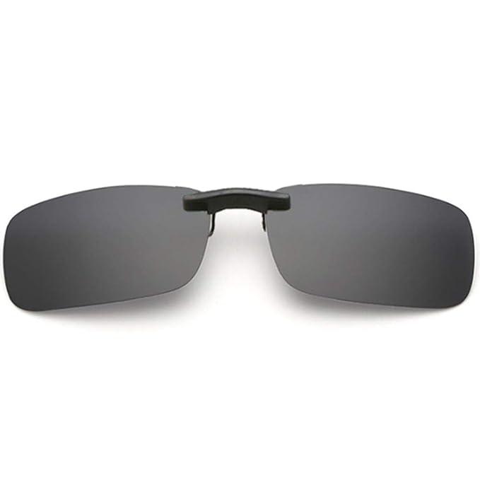 YUNCAT Gafas de sol polarizadas con clip Unisex-Elegantes y ...