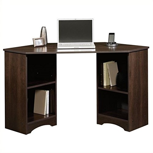 Sauder Beginnings Corner Desk, Cherry Featured Sauder