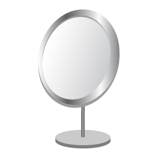 Mirror with Night Light -