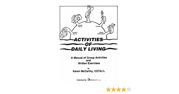 Amazon.com: Activities of Daily Living Manual: Group Activities ...