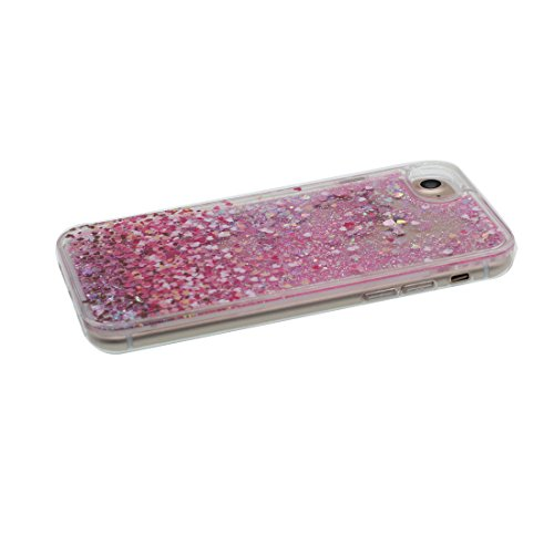 """iPhone 6 Coque, Bling Bling Glitter iPhone 6s étui Cover (4.7 pouces), Fluide Liquide Sparkles Sables iPhone 6 Case (4.7""""), Shell anti- chocs & Bouchon anti-poussière"""