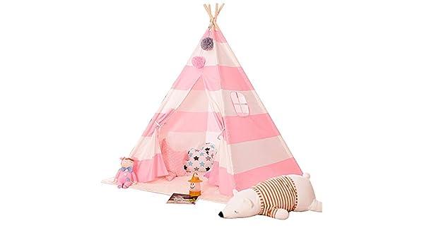 Juguete tienda canadiense Carpa del pequeño niño lona de los niños de los indios norteamericanos india tienda del juego de los niños indios teatro de creación de bandas de decoración de interior