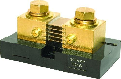 - Blue Sea Systems 8255 Digital Meter Shunt (500A/50mV)