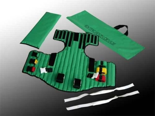 - KED Extrication Device - Jacket for Immobilizing,With Carrying Case Color Coded