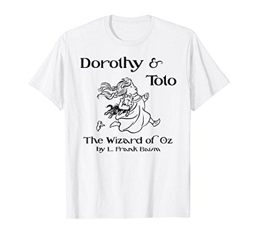 Vintage Dorothy & Toto T-Shirt-Wonderful Wizard of Oz
