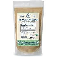 Pure Indian Foods Organic Triphala Powder 8 oz 227 g