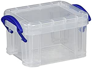 Really Useful Box 0.14 Litre, Clear, Qty. 1