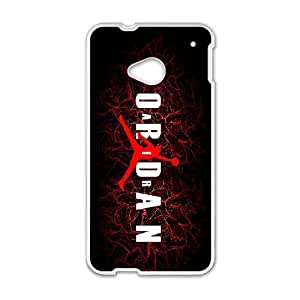 Custom Case Jordan Logo For HTC One M7 Q3V612315