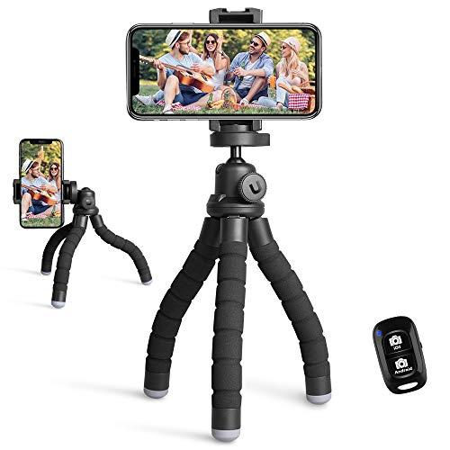 Portable and flexible phone tripod