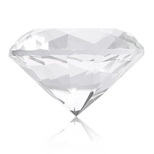 Glass Crystal Diamond Nail Art Display Tool Nail Art Display Photography Decoration 2 Colors (White)