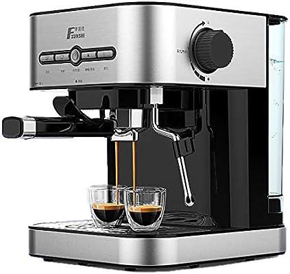 DPPAN Maquina de Cafe 12 Tazas, Cafetera con vaporizador de Leche ...