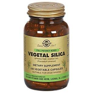 Solgar - Vegetal Silica, 100 veggie caps