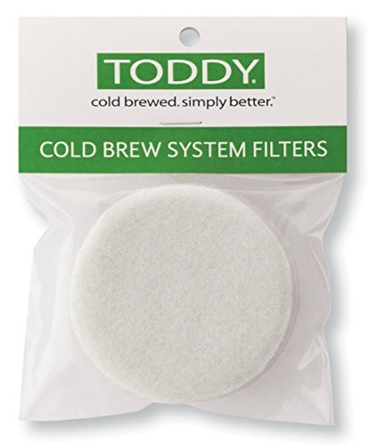 Toddy Filters, (8 Pack) Replacement Coffee Filters For Toddy Cold Brew System by Toddy