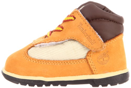 Pictures of Timberland Field Crib Bootie (Infant) Brown 4