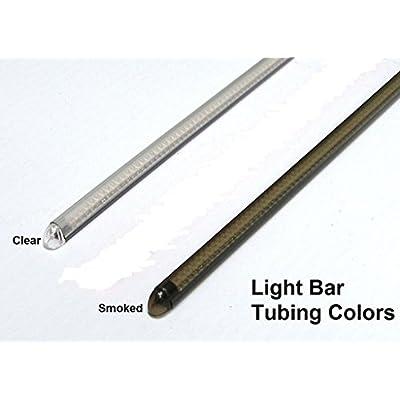 Victory Vegas & Jackpot Models Razor 43mm Fork LED Turn Signal Light Bars - Clear Lens: Automotive