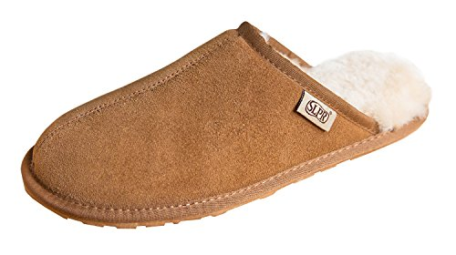SLPR Men's Sheepskin Summit Slipper