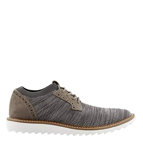 - Dockers Men's Einstein Knit/Leather Smart Series Dress Casual Oxford with NeverWet Oatmeal/Black Marbeled Knit/Nubuck 13 D US