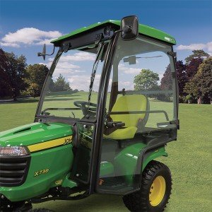 Cozy Cab for X700 Signature Series Lawn and Garden Tractors (Garden Tractor Front Loader)