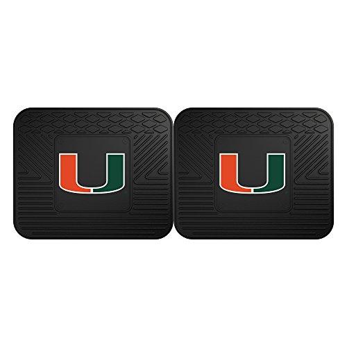 University of Miami Utility Mat (2 Pack)