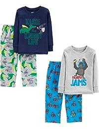 Simple Joys by Carter's Baby-Boys Toddler Boys 4-Piece Pajama Set