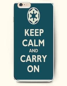 iPhone 6 Case,OOFIT iPhone 6 (4.7) Hard Case **NEW** Case with the Design of KEEP CALM AND CARRY ON - Case for Apple iPhone iPhone 6 (4.7) (2014) Verizon, AT&T Sprint, T-mobile wangjiang maoyi