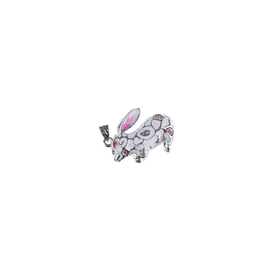 2GB Rabbit Design U Disk USB Flash Memory Drive (Silver)