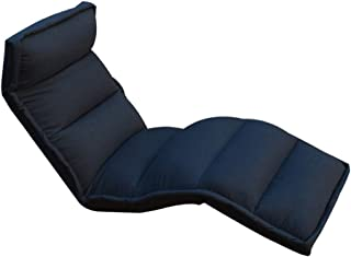 LR Sofa Canapé Paresseux Fauteuil de Sol , avec Support Dorsal pour Utilisation comme Chaise de canapé Paresseux, 4 Couleurs (Couleur : B, Taille : 200 * 58 * 18 cm)