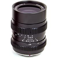 SLR Magic 25mm T0.95 Hyperprime Cine III Lens with 50mm Micro Four Third Mount, 0.20m Minimum Focusing Distance