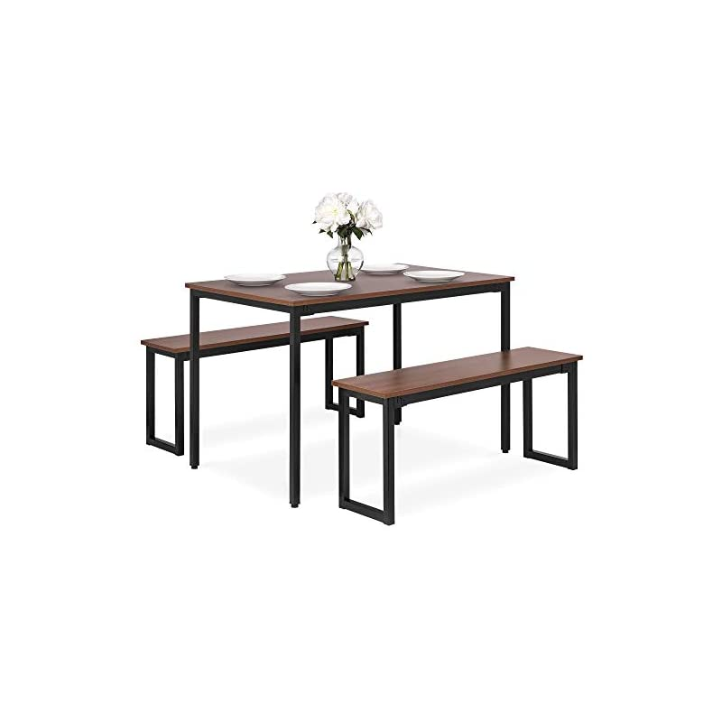 Best Choice Products 3-Piece 4ft Wooden