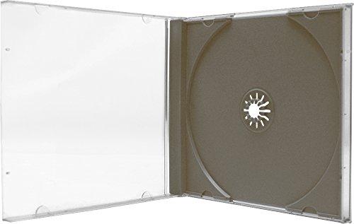 Box Allsop - (1) Allsop Single Super Strong Box CD Jewel Case - CDBIS10DGPR - Durable and Shatter Proof CD Case