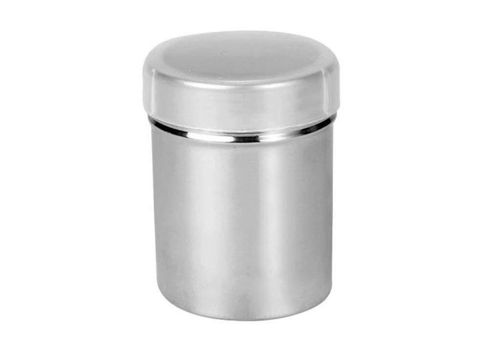 プレミアム調味料ボックス ステンレススチール 粉末シュガーシーブ ココアパウダー ふるい グリーンティーパウダー ふるいフィルター ふるいスパイスジャー ベーキングツールストレージ B07PGN22BW