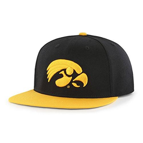 new arrival 149d2 38121 Iowa Hawkeyes Flat Bill Hats