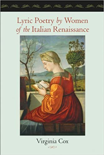 Book Lyric Poetry by Women of the Italian Renaissance