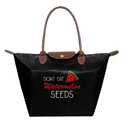 Adwelirhfwer Unisex Don't Eat Watermelon Seeds Travel Bundle Black by Adwelirhfwer