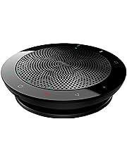 Jabra Speak 510 Speaker – Enceinte Portable Bluetooth, Haut-Parleur pour Conférence – Connexion avec ordinateurs portables, smartphones et tablettes – Prise USB