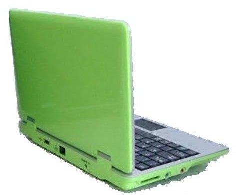 Neu 4gb 17.8cm (7 Zoll) Notebook Netbook, Kompatibel mit BBC iPlayer, Youtube, Facebook- Grun