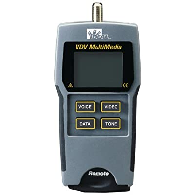 IDEAL 33-856 VDV Multimedia Cable Tester electronic consumer