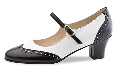 white Emma Kern women's 4 shoes Werner 5 black dance PqOCwSg