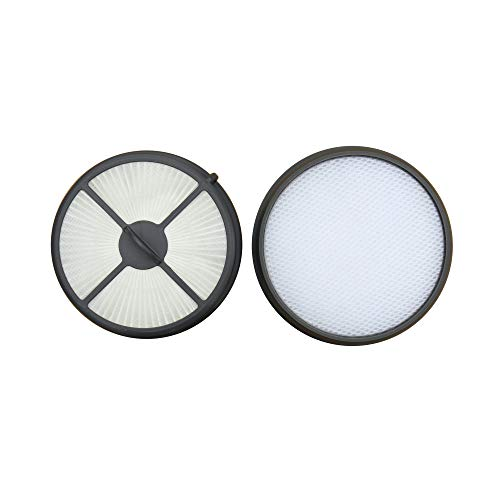 Hepa Media Filter + Primary Filter Replacement Kit for Hoover WindTunnel Air Bagless Upright Model UH70400 & UH70405, Compatible with Part # 303902001 & 303903001