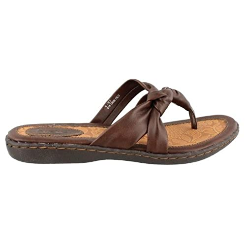 Women's B.O.C, Sequin Thong Sandal BROWN
