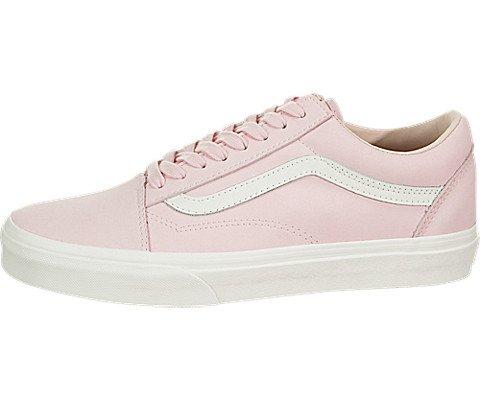 Vans Buck Old Skool Unisex Womens Skateboarding-Shoes VN-0A38G1U5W_6.5 - Pink/True White (Van Pink)
