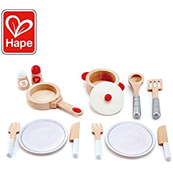 Amazon com: Hape Kids All-in-1 Wooden Play Kitchen with